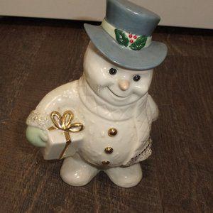 Lenox snowman figurine Christmas holidays